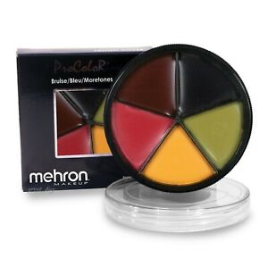 Mehron ProColoRing Bruise Wheel_Fx Special Effects_Theater Professional Make Up.