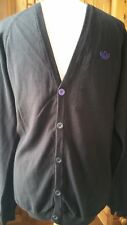 Men's Adidas Black Cardigan S *NEW*