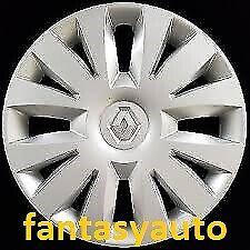 """Renault Clio Set 4 Borchie Coppe Ruota Copponi Copricerchi 15"""" 5756/5"""