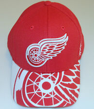 Detroit Red Wings 2015 Draft Hat Cap L/XL NHL Hockey Players Flex Fit Reebok