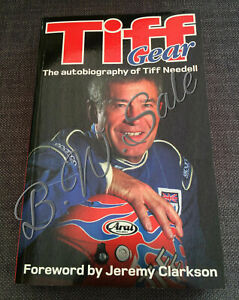 Top Gear Racing Tiff Gear The Autobiography of Tiff Needell Paperback Book 2012