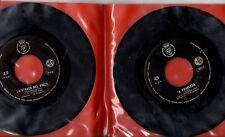 SET 4 dischi 45 g. MADE in ITALY Nando Star GRAZIELLA CALY Mirella Barbieri NET