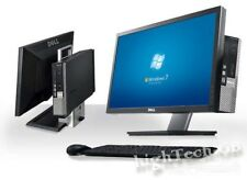 "Dell Optiplex All in One USFF Core 2 Duo 19"" TFT  4GB Ram 250GB   Win 7 DVD RW"