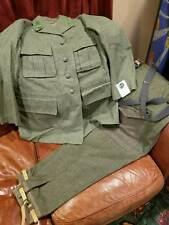 NOS MEN'S 1940 SODERBERG UPSULA SWEDISH MILITARY UNIFORM WOOL ORIG TAGS