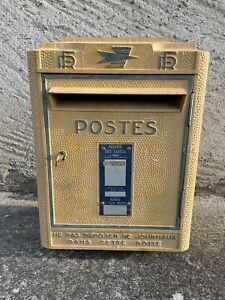 """Ancienne Boite à Lettres """"La Poste"""" / Dejoie & Cie Nantes 1981 Réformée PTT"""