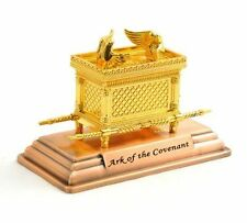 Jewish Ark of God the Covenant Testimony on Copper Base - Small Size