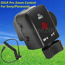 DSLR Pro Zoom Control For Sony LANC A1C 150P Panasonic 180A 130AC DV ACC Black