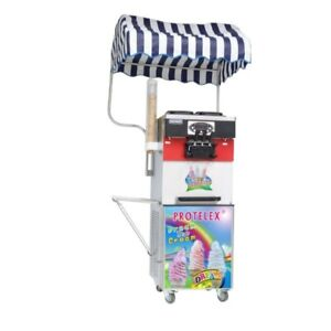 Softeismaschine Eismaschine Eiscreme Frozen Yogurt  Maschine 3300W