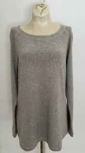 LKnew! Large Neiman Marcus Womens Cashmere Silk Pullover Sweater Long Sleeve L