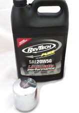 Kit Cambio Olio Y Filtro Per Harley-Davidson Revtech Pure 20W50