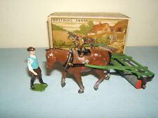 VINTAGE BRITAINS MODEL  No.9F  *HORSE ROLLER & MAN *    MIB