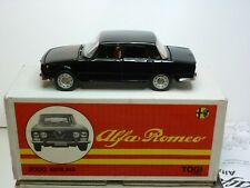 TOGI 9/72 ALFA ROMEO 2000 BERLINA - BLACK 1:23 - EXCELLENT IN BOX