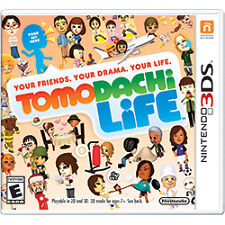 Tomodachi Life Nintendo 3ds Video Game