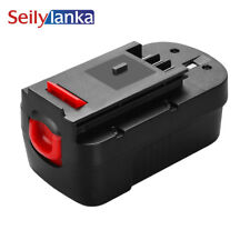 For Black&Decker 18V 3000mAh A18 A1718 A18NH HPB18 HPB18-OPE FS1800CS battery