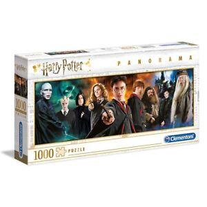 Puzzle Clementoni Panorama Harry Potter 1000pz, 98x33 cm, 14+