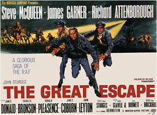 THE GREAT ESCAPE      FILM POSTER FRIDGE MAGNET