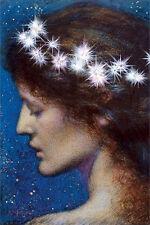 STARS OF HEAVEN - HUGHES ART PRINT POSTER - 24x36 EDWARD ROBERT 5083