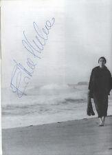 Erika Pluhar, Unterwegs, Booklet zu Live-Mitschnitt Tournee Wien 1981, signiert