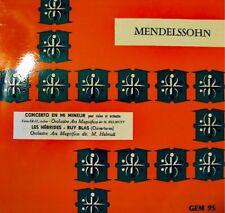 ERAZ/HELMUTT les hébrides/ruy blas MENDELSSOHN LP EX++
