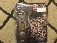 Duck Dynasty Willie Robertson Adult Mens One size Costume Bandana Wig Beard NEW