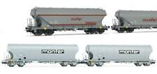 Rivarossi HR 6225-04 couvert wagons GS FS ep4//5 Marron 2-achsig NEUF h0-dc