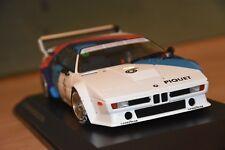 Bmw m1 Heritage Racing Collection, 1:18 Dealer Edition (MINICHAMPS) très belle!!!