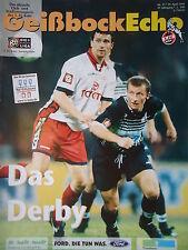 Programm 1998/99 1. FC Köln - Fortuna Köln