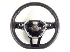 VW Sharan Multifunktionslenkrad Lederlenkrad Lenkrad GRA 6C0419091F rote Naht