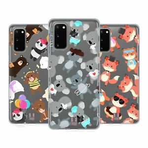 HEAD CASE DESIGNS LOVELY ANIMALS SOFT GEL CASE FOR SAMSUNG PHONES 1
