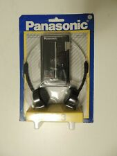 Vintage Panasonic RF-423 Portable AM/FM Stereo Headphone Radio 1980's NOS New
