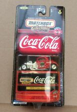 Matchbox Coca Cola Collectibles:  '33 Ford Coupe NIP