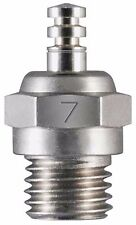 New O.S. #7 Single Medium Hot Air Glow Plug # 71607100 - OSMG2713