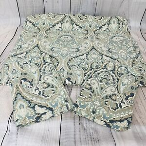POTTERY BARN McKenna Paisley 3 Piece Duvet Cover King Size & 2 King Shams Wow!