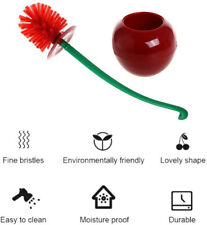 Creative Toilet Brush with Holder Bowl&Long Handle, Household Bathroom Cleaning