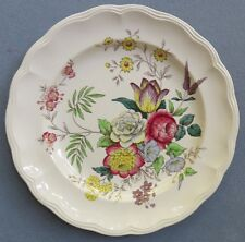 "Copeland Spode Gainsborough 13"" Chop Plate Platter Floral Bouquet Great Britain"