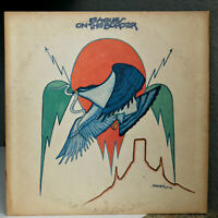 "THE EAGLES - On The Border - 12"" Vinyl Record LP - VG"