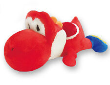Nintendo 14'' Yoshi Red Belly Flop Prize Plush Doll Anime Manga MINT