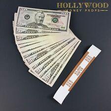 100 x 50s PROP MONEY New Style - Play Fake Prop Bills Movie Money Fake Money
