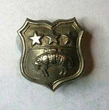 Leeds City police Collar badge WWII era  Obsolete Constabulary disbanded 1974
