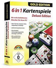 6 Kartenspiele - Skat - Romme - Poker - Canasta - Doppelkopf & Schafkopf für PC