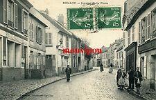 CPA - Belloy - Val d'Oise - La rue de la Poste