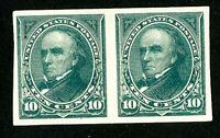 US Stamps # 226p5 Superb OG LH Pair Scott Value $325.00
