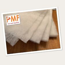 69cm Wide 10 Metre Aquarium Pond fish tank Filter Wool floss 12-15mm 135 GSM