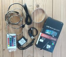 USB Mood light for tv. 2 LED strip
