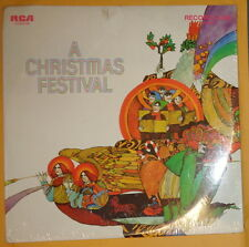 A CHRISTMAS FESTIVAL - RCA RECORD CLUB - Double LP - 33 RPM - MINT, SEALED. 1970