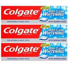 Colgate Deep Clean Whitening Toothpaste w/ Baking Soda Fluoride 100ml BIG SAVING