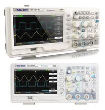 """Siglent sds1102cml+ 2ch 2 mpoints 7""""tft 100 MHz de mémoire oszilloskop@pinsonne"""