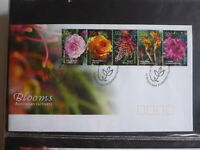 2003 AUSTRALIA FLOWERS- AUSTRALIAN CULTIVARS SET 5 STAMPS FDC FIRST DAY COVER