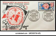 UPPER VOLTA - 1961 WORLD DAY OF METEOROLOGY - FDC