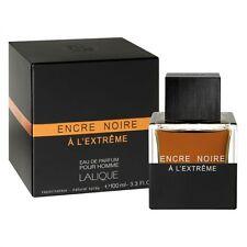Encre Noire A L'extreme by Lalique 3.3 3.4 oz Perfume Eau De Parfum Spr for Men